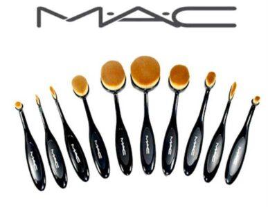 ست براش مک | ست براش آرایشی MAC | ست براش ارزان مک | ست براش 10 تکه MAC | بهترین ست براش MAC | ست براش آرایشی مک | آرایش سرا .