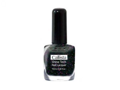 لاک ناخن کالیستا n06 | لاک callista N06 | بهترین لاک ناخن ایرانی | لاک ناخن مشکی کالیستا | قیمت لاک ناخن کالیستا | shine tech Nail lacquer N06 | آرایش سرا .