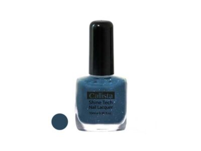 لاک ناخن آبی نفتی کالیتستا N28 | لاک ناخن کالیستا شماره N28 | لاک ناخن ویتامینه کالیستا N28 | بهترین مارک لاک ناخن آبی نفتی | Callista nail polish N28 | .