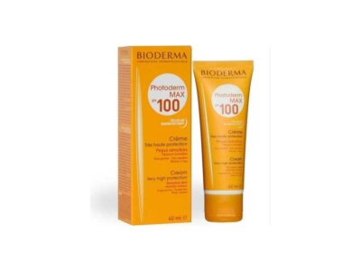 کرم ضد آفتاب بیودرما spf100 | کرم ضد آفتاب بیودرما مدل photoderm max | کرم ضد آفتاب فتودرم 100 | بهترین کرم ضد آفتاب برای پوست خشک | کرم ضد آفتاب Bioderma spf100 |