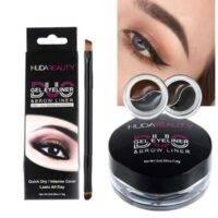 خط چشم ژله ای هدی بیوتی | خط چشم ژله ای Huda Beauty | خط چشم ماندگاری بالاهدی بیوتی | خط چشم دو رنگ huda beauty | خط چشم مشکی و قهوه ای ژله ای | آرایش سرا .