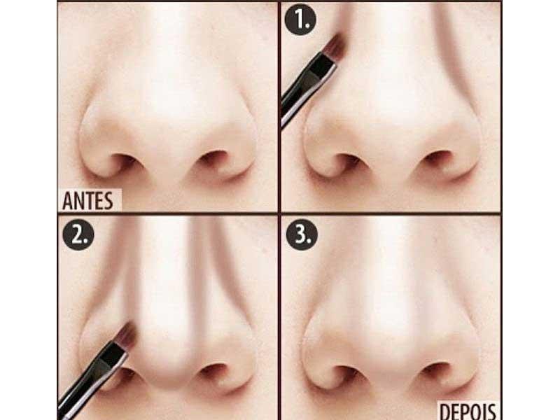 كوچك كردن بيني با آرايش | آرايش كوچك كردن بيني | تکنیک کوچک کردن بینی | استفاده از کانتور بینی | تکنیک گریم در سایز بینی | آرایش سرا.