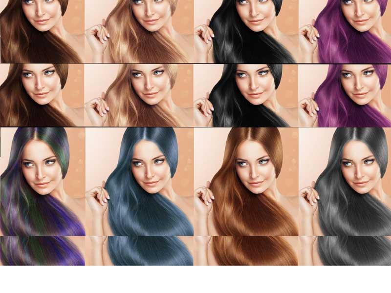 رنگ مو متناسب با رنگ چشم | رنگ مو مناسب با رنگ پوست | چه هایلایتی بخریم | انواع رنگ پوست و رنگ مو | چه رنگ مویی بخریم | آرایش سرا.