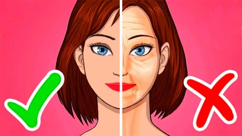 تاثیر خوراکی ها در سلامت پوست | تاثیر ورزش در سلامت پوست | تاثیر خواب در سلامت پوست | تاثیر نوشیدن آب در سلامت پوست | تاثیر سیگار در سلامت پوست | آرایش سرا.