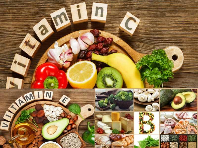 استفاده از ویتامین ها برای درمان مو