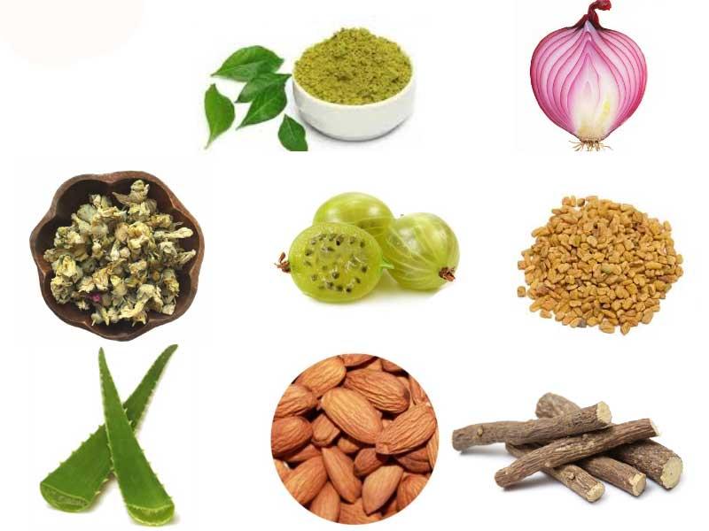 استفاده از مواد غذایی برای درمان مو