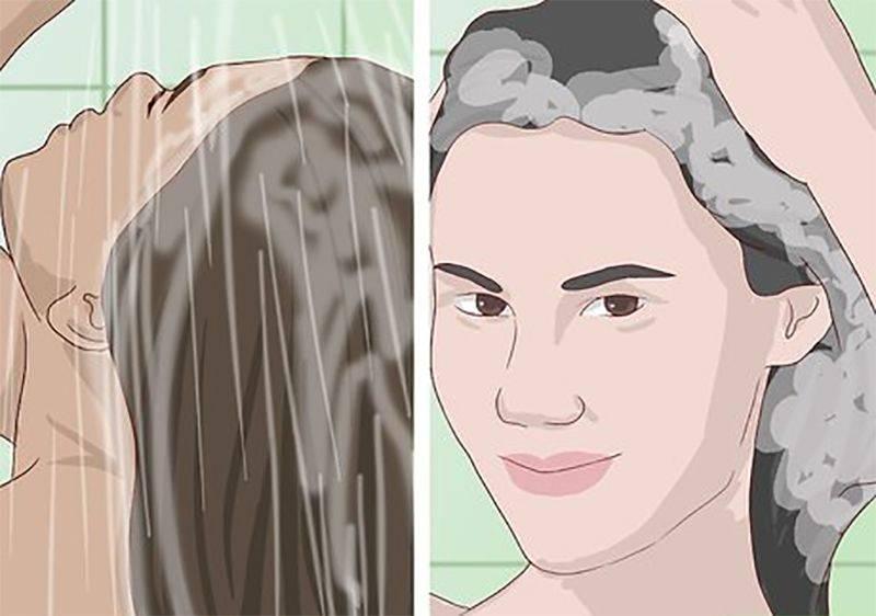 شست و شوی صحیح مو
