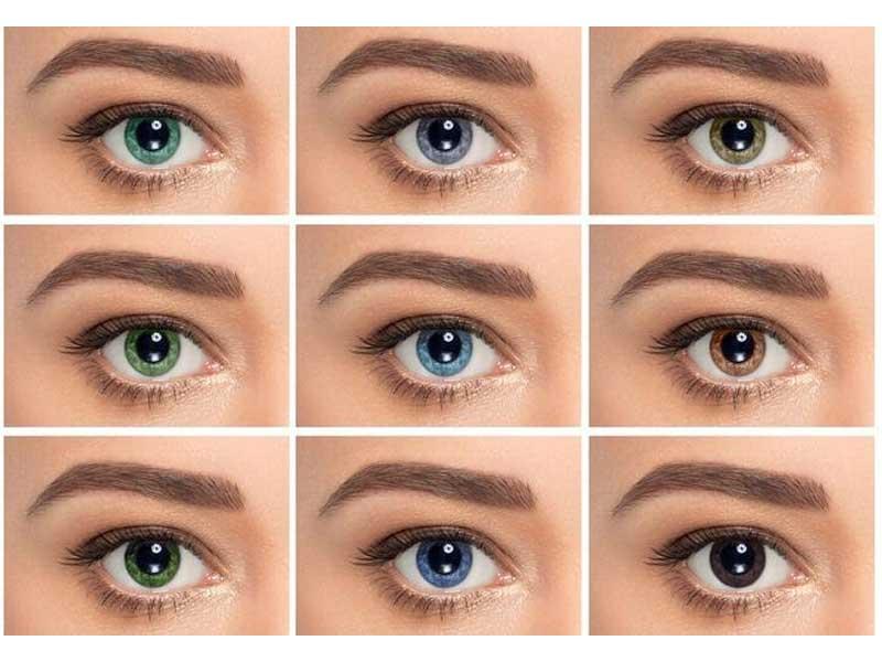 لنز مناسب پوست سبزه