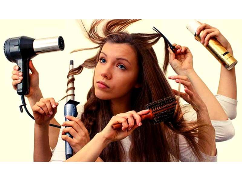 خشک کردن صحیح مو