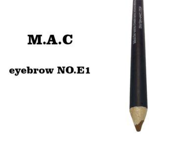 مداد ابرو مک شماره E1 | مداد ابرو ضد آب |مداد ابرو قهوه ای | مداد ابرو mac | مداد ابرو ضد حساسیت | آرایش سرا