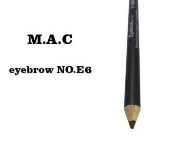 مداد ابرو مک شماره E6 | قیمت مداد ابرو ضدآب مک | مدادابرو قهوه ای تیره | مداد ابرو mac | مداد ابرو ضد حساسیت MAC | آرایش سرا