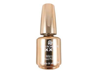 لاک آینه ای MISS ROMANTIC | لاک آینه ای طلایی | لاک براق طلایی | قیمت لاک آینه ای | لاک آینه ای براق | بهترین لاک آینه ای | آرایش سرا