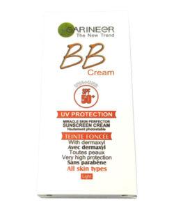 کرم ضد آفتاب BB گارنیر SPF 50 | کرم ضد آفتاب گارنیر | کرم bb گارنیر | کرم ضد آفتاب گارنیر bb با کیفیت بسیار بالا برای محافظت از پوست در برابر آفتاب | آرایش سرا