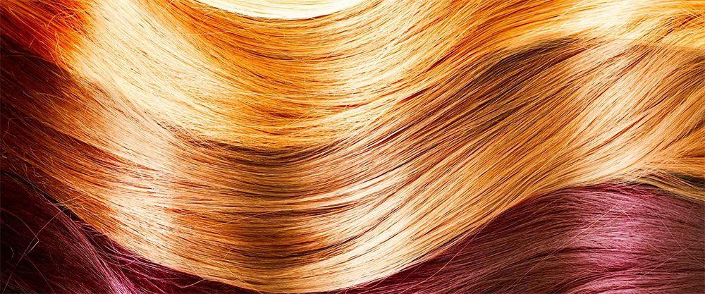 ترکیبات رنگ مو