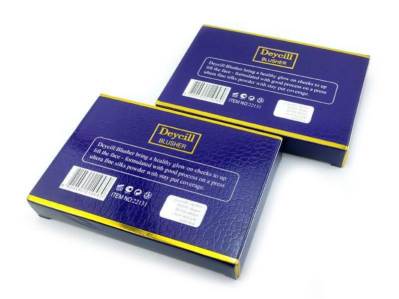 رژگونه دایسل Deycill Blusher یک رژگونه 6 تایی از نوع رژگونه مات میباشد. قیمت رژگونه دایسل نسبت به کیفیت خوبی که دارد مقرونه به صرفه است.