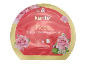 ماسک ورقه ای گل رز کاریته Karite Rose mask